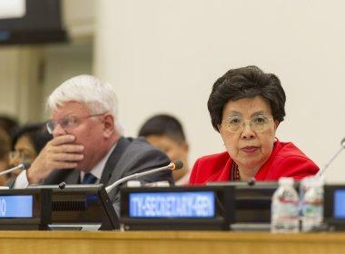 Margaret Chan, Diretora-Geral da OMS | Foto: Mark Garten/UN